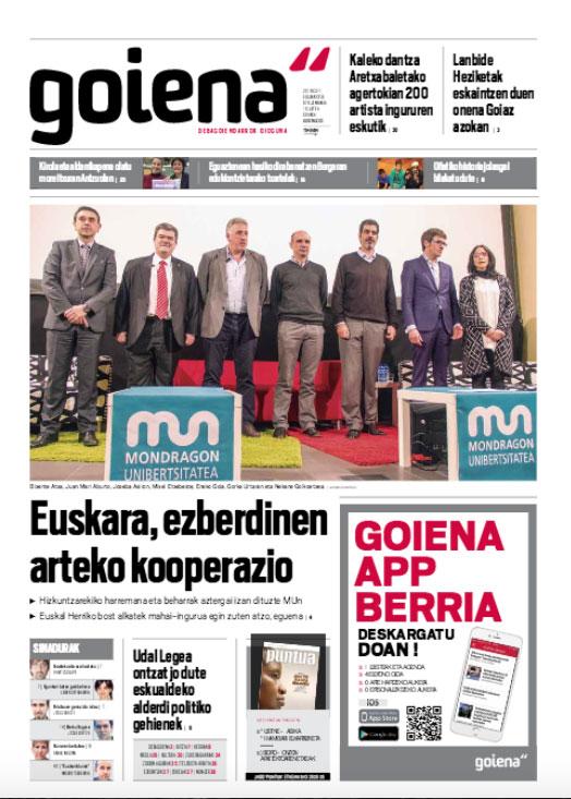 Bixente Atxa, Juan Mari Aburto, Joseba Asiron, Mixel Etxebeste, Eneko Goia, Gorka Urtaran eta Begoña Pedrosa
