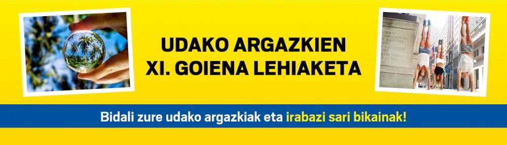 UDAKO  ARGAZKIEN  XI.  GOIENA  LEHIAKETA