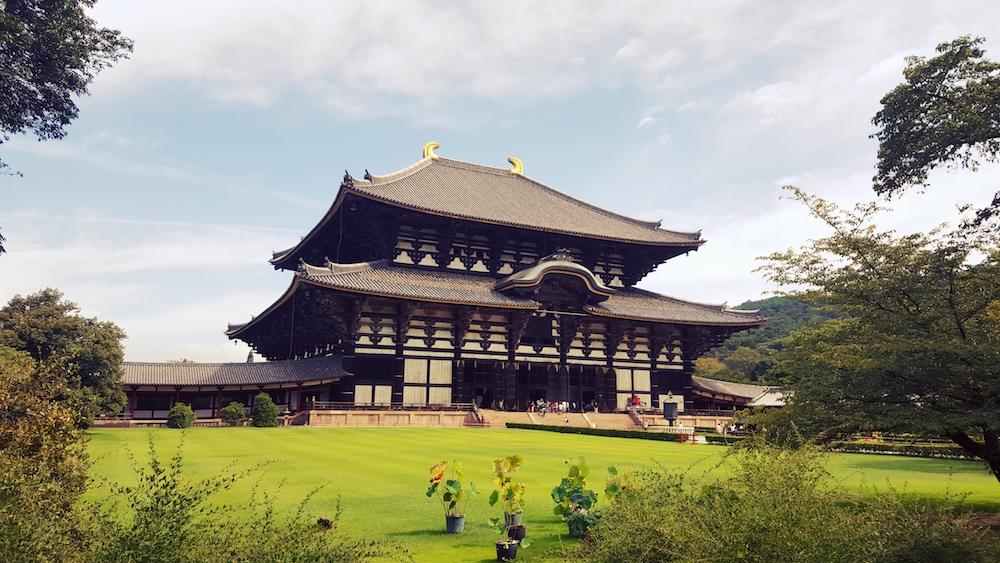 NARA | Eider Etxeberria (Aramaio). Aurtengo irailean Japoniako Nara herrian ateratako argazkia da. Nara herriko tenplu garrantzitsuena ateratzen da argazkian.