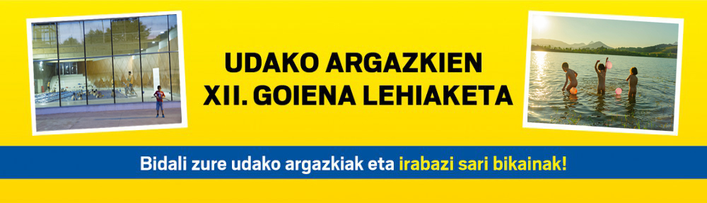 UDAKO  ARGAZKIEN  XII.  GOIENA  LEHIAKETA