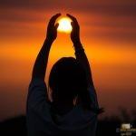 143 - Alaitz eklipse, eguzki, argi eta kamararekin jolasean