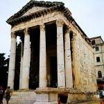 146 - Pula hiriko Augusto tenplua