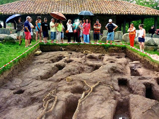 Argiñetako nekropolian