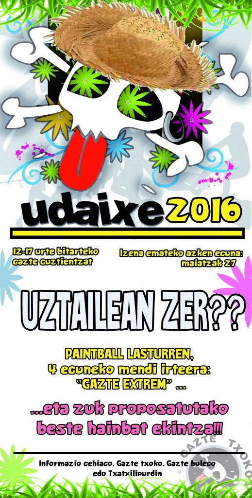UDAIXE 2015 kartela