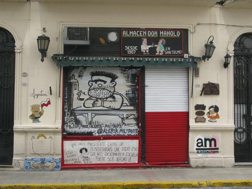 Benetakoa ote da Don Manoloren San Telmoko almazena?