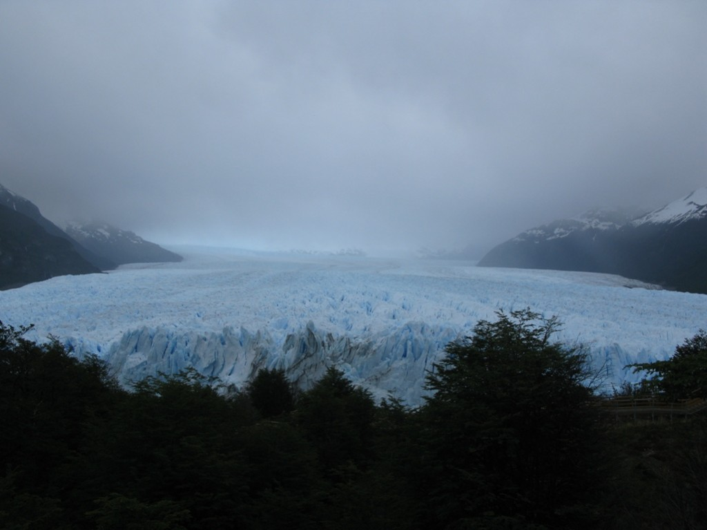 Perito Moreno glaziar ikusgarria